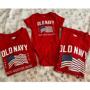 Bundle of Old Navy Matching Family Tees